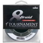 Plecionka Daiwa Tournament 8X Braid 0,12mm 8,9kg 135m Ciemnozielony