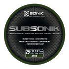 Żyłka Subsonik Green 25lb 0,41mm 1200m