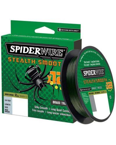 Plecionka SpiderWire Stealth Smooth 8 Moss Green 0.06mm 5,4kg 150m 2020r