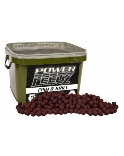 Kulki Starbaits Power Feedz Fish & Krill 20mm 1,8kg