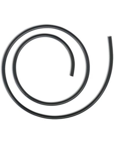 Rurka Silikonowa Czarna Black Cat 5mm 1m