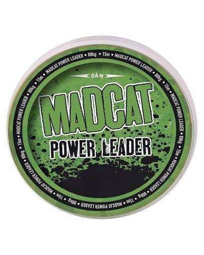 Plecionka Przyponowa Madcat Power Leader 80kg 15m