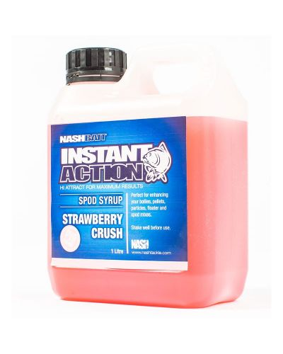 Crush Spod Syrup Nash Instant Action 1l Strawberry