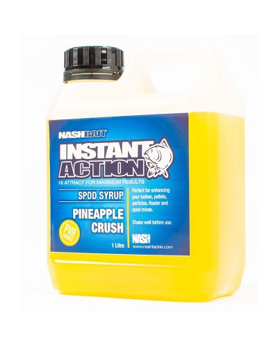 Crush Spod Syrup Nash Instant Action 1l Pineapple