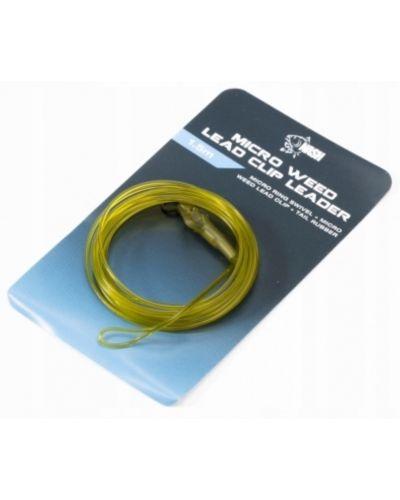 Lead Clip Leaders Diffusion Camo 0.75m Uni Rig Weed LC TR