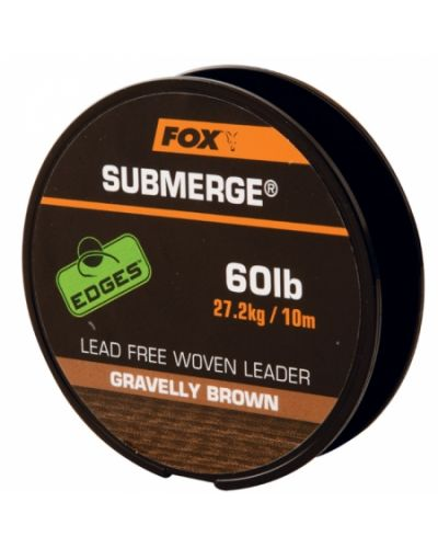 Fox Submerge Lead Free Leader 27,2kg 10m Brown