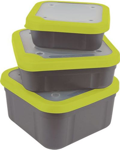 Matrix Pudełko Na Przynęty Grey/Lime Bait Box