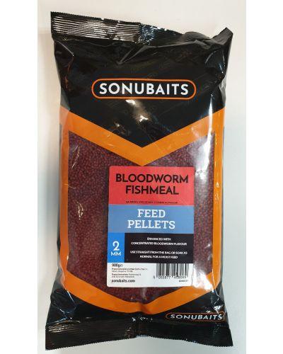 Sonubaits Feed Pellets Bloodworm 2mm 900g