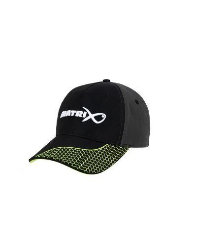 Czapka z Daszkiem Matrix Grey / Lime Baseball Hat