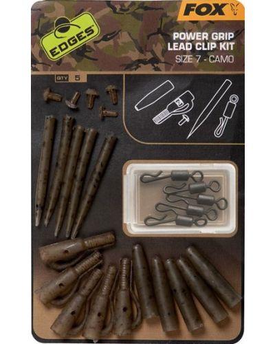 Bezpieczny Klips Edges Camo Power Grip Lead Clip Kit  #7