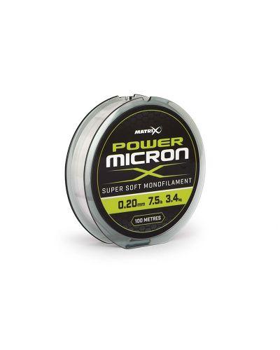 Żyłka Matrix Power Micron X 0,12mm 1,6kg /100m