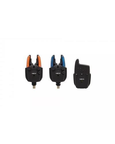 Zestaw Sygnalizatorów Neco Carp R102 2+1