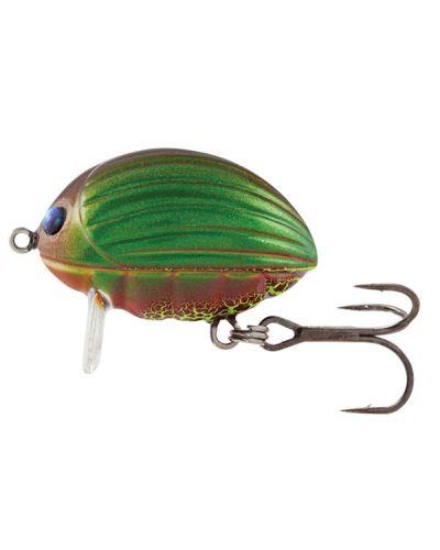 Wobler Salmo Lil Bug Floating 2cm Green Bug