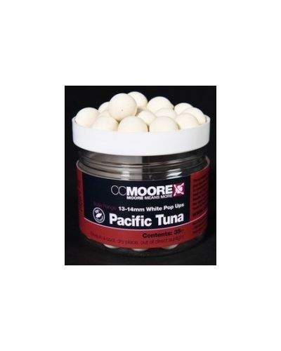 CC Moore White Pop Up Pacific Tuna 13/14mm