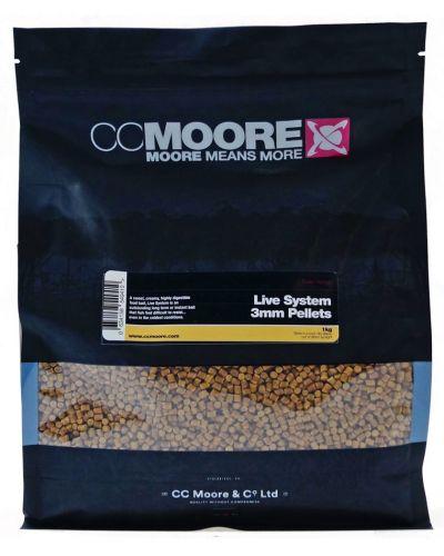 CC Moore Live System Pellet 3mm 5kg
