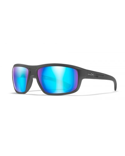 Okulary Wiley X Contened Captivate Polarized Blue Mirror Smoke Grey Matte Graphite Frame