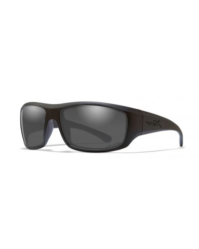 Okulary Wiley X Omega Captivate Polarized Smoke Grey Matte Black Frame