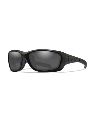 Okulary Wiley X Gravity Captivate Polarized Smoke Grey Matte Black Frame