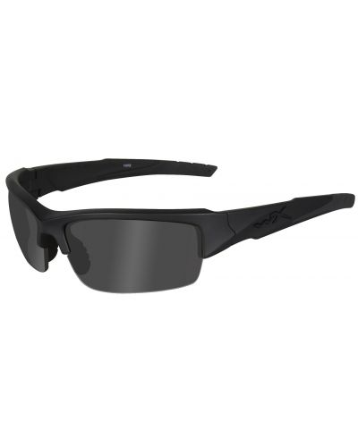 Okulary Wiley X Valor Polarized Smoke Grey Matte Black Frame