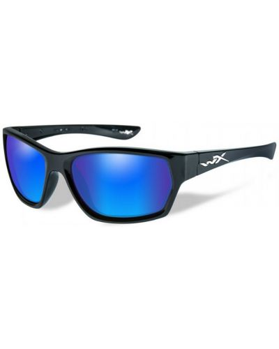 Okulary Wiley X Moxy Polarized Blue Mirror Gloss Black Frame