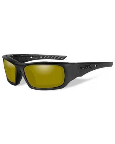 Okulary Wiley X Arrow Polarized Yellow Lens Matte Black Frame