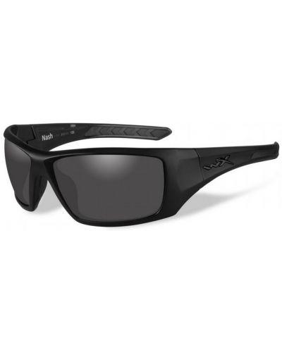 Okulary Wiley X Nash Polarized Smoke Grey Gloss Black Frame