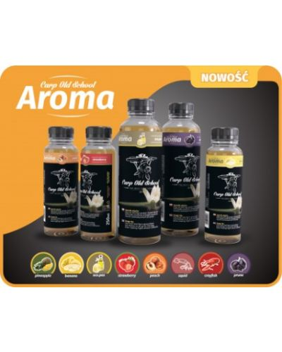 Carp Old School Aromat Truskawka 250ml