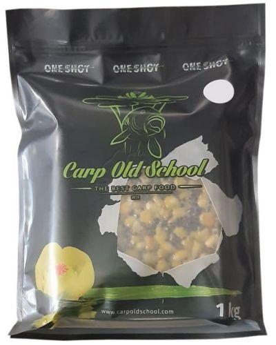 Carp Old School Mix Ziaren 1kg Zapach Naturalny