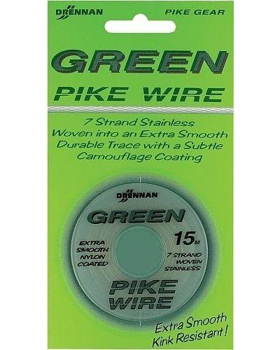 Drennan Green Pike Wire Linka Stalowa 28lb 15m