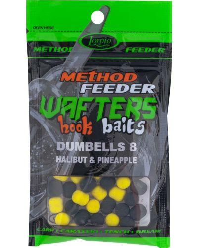 Dumbells Wafters Lorpio Hook Baits 8x10mm 15g