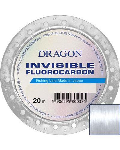 Fluorocarbon Dragon Invisible 0,385mm 9,45kg 20m