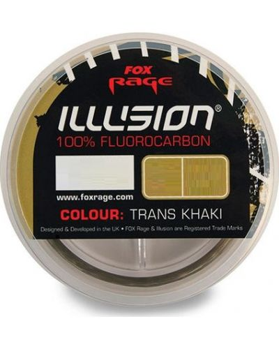 Fluorocarbon Fox Rage Illusion 0,25mm/50m
