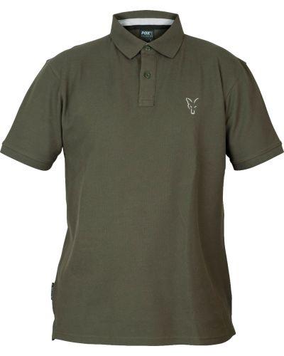 Koszulka Polo Fox Green/Sliver M