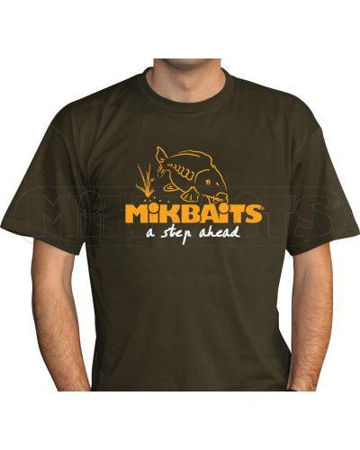 Koszulka T-Shirt Mikbaits Fans Team Zielona