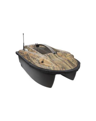 Łódka zanętowa z Sonarem i GPS Lit-jon Patrol Camo