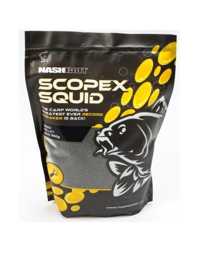 Nash Scopex Squid Pellets 900g