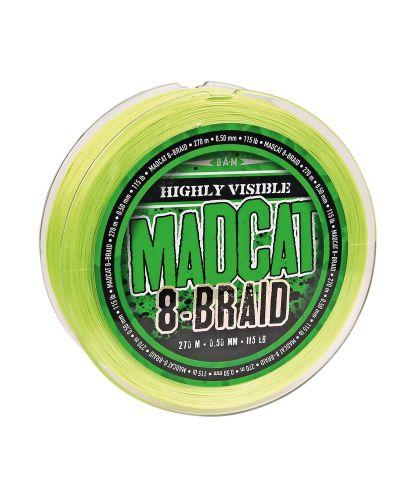 Plecionka Madcat G2 0,270m Fluo Zielona