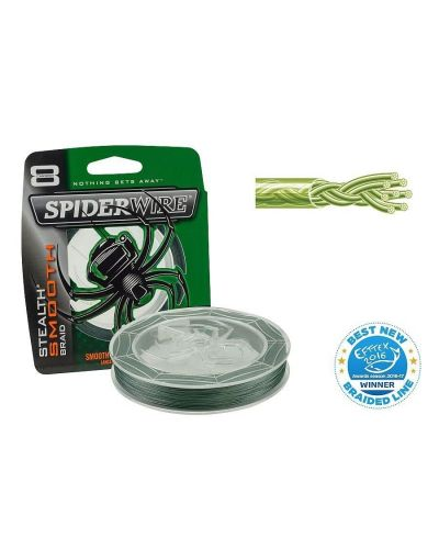 Plecionka SpiderWire Stealth Smooth 8 Moss Green 0.08mm 9,2kg 150m