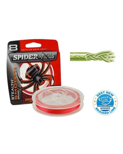 Plecionka SpiderWire Stealth Smooth 8 Red 150m