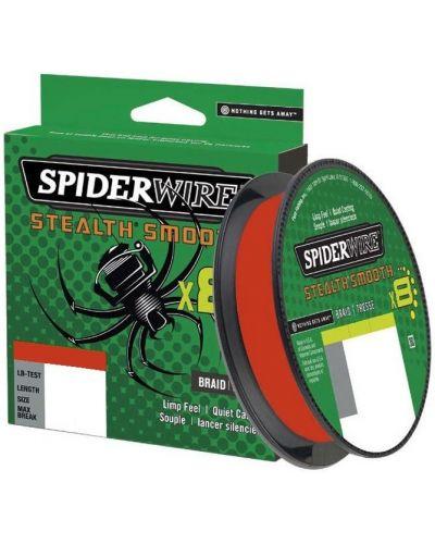 Plecionka SpiderWire Stealth Smooth 8 Red 0.13mm 12,7kg 150m 2020r