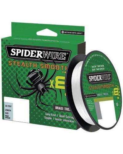 Plecionka SpiderWire Stealth Smooth 8 Translucent 0.11mm 10,3g 150m 2020r