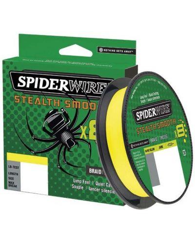 Plecionka SpiderWire Stealth Smooth 8 Yellow 0.13mm 12,7kg 150m 2020r