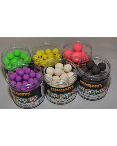 Pop-Up Mikbaits Fluo 18mm 250ml