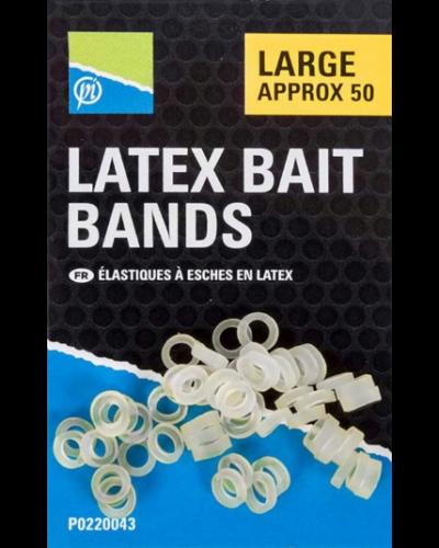 Preston Latex Bait Bands - Gumki Do Pelletu