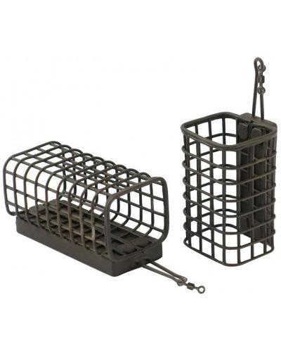 Koszyk Zanętowy Daiwa N'Zon Square Cage Feeder Medium
