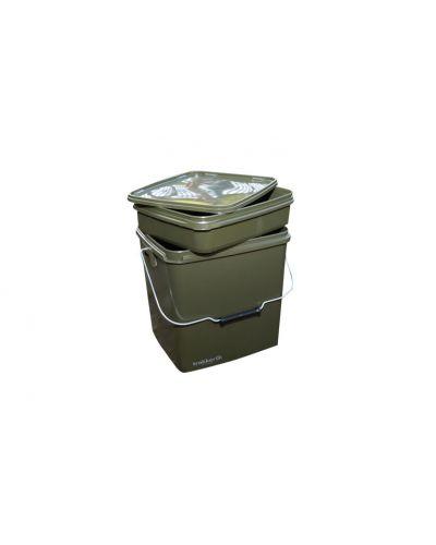 Trakker 13L Olive Square Container - Wiaderko z pojemnikiem