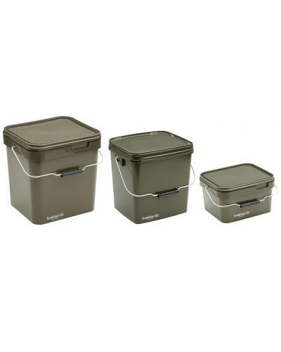 Trakker 5L Olive Square Container - Wiaderko