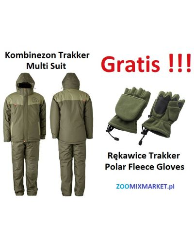 Kombinezon Trakker Core Multi-Suit + Gratis Rękawice Trakker Polar Fleece Gloves