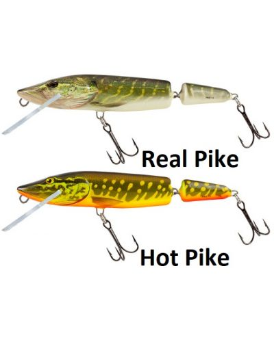 Wobler Salmo Pike Jointed Floating