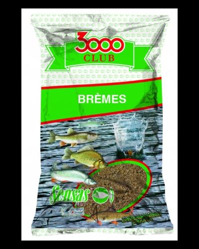 Zanęta Sensas 1kg 3000 Club Bremes